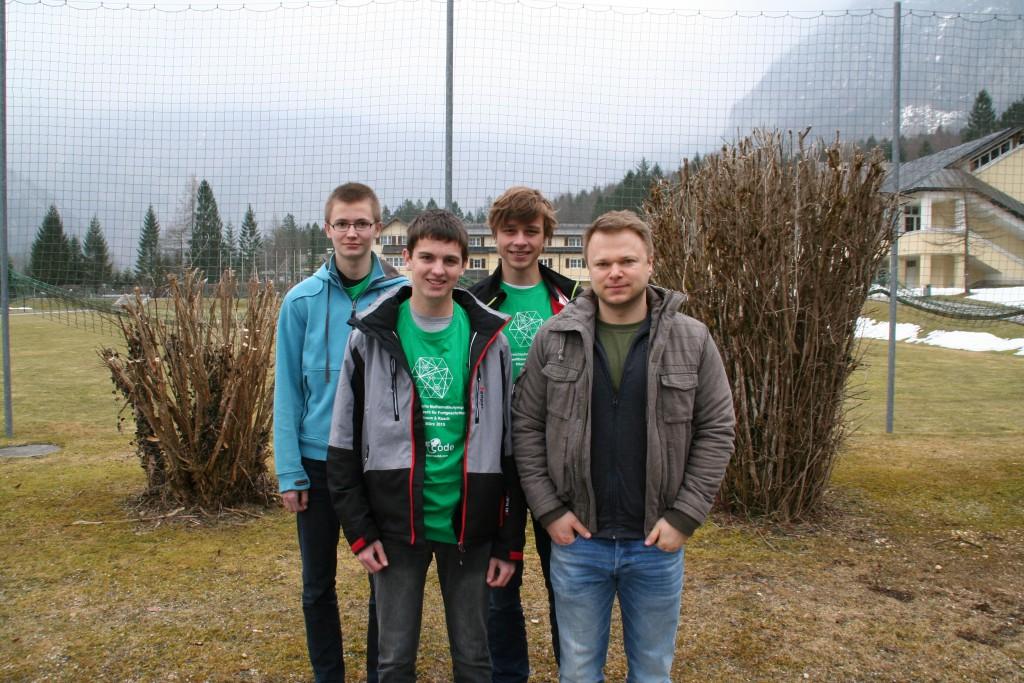 Lauri Hakala, Stefan Umgeher, Lukas Hageneder, Michael Kolnberger